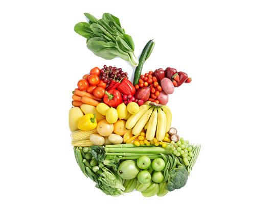 عکس میوه و سبزیجات خلاقانه