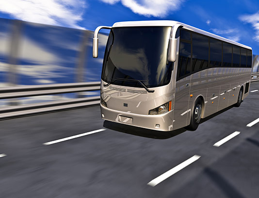 عکس اتوبوس مسافربری