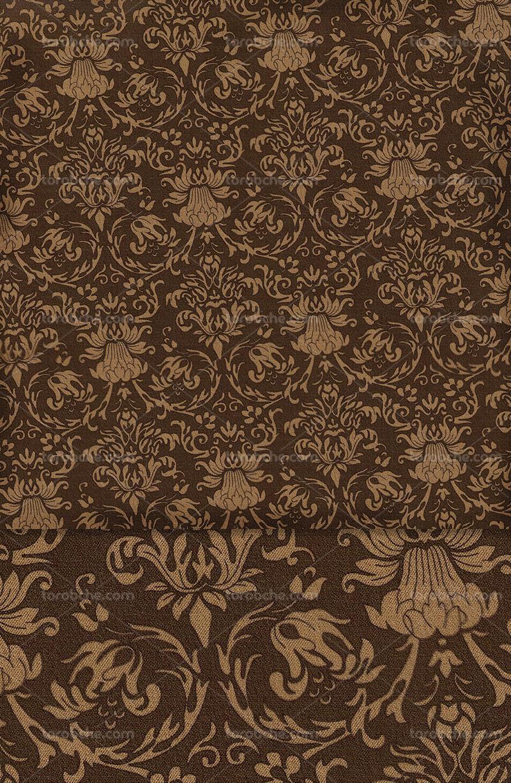 پترن و پس زمینه سنتی قهوه ای