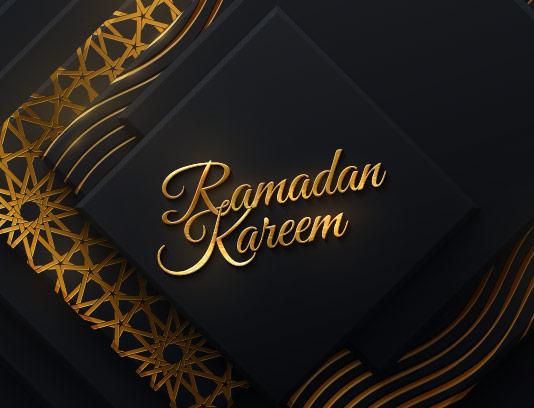 وکتور بکگراند سنتی ماه مبارک رمضان