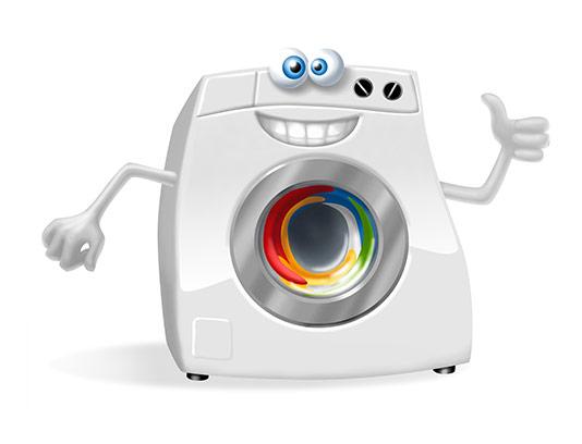 عکس کاراکتر ماشین لباسشویی