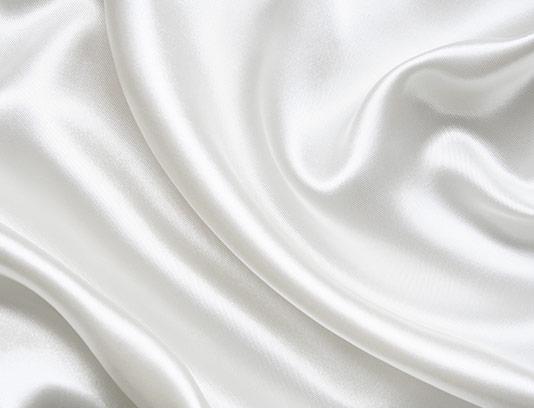 عکس با کیفیت پارچه ساتن سفید