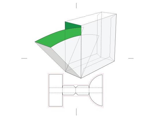 وکتور طرح گسترده جعبه مکعبی