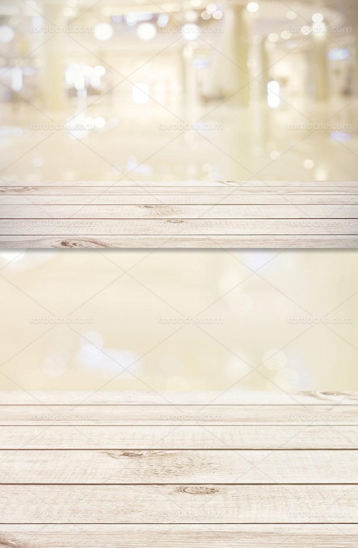 پس زمینه تخته چوبی