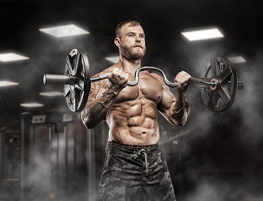 عکس هیکل مرد بدنساز