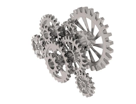 عکس چرخ دنده فلزی