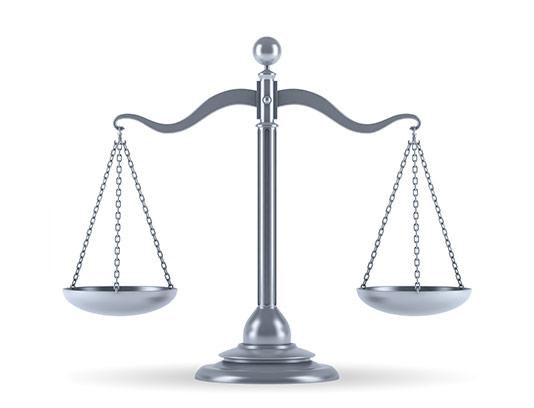 عکس ترازوی عدالت