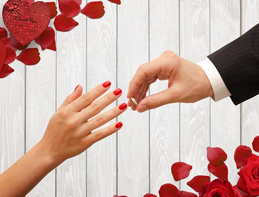 عکس حلقه ازدواج طلا