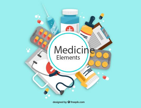 وکتور المان های پزشکی