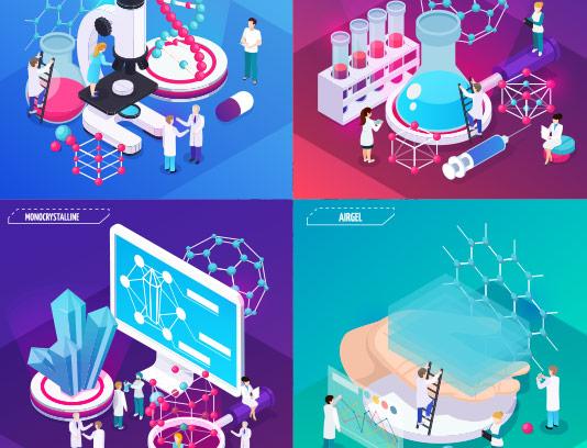 وکتور ایزومتریک فناوری نانو