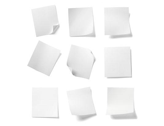 عکس انواع کاغذ سفید