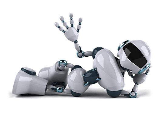 عکس ربات مدرن سفید
