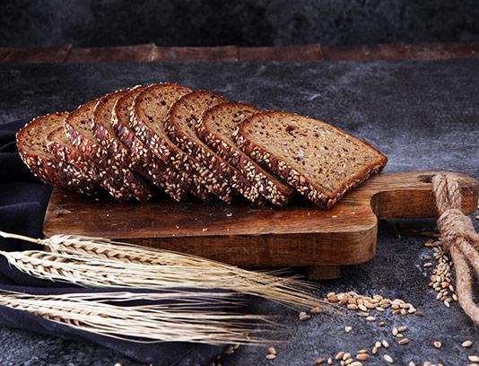 عکس نان تست کنجدی