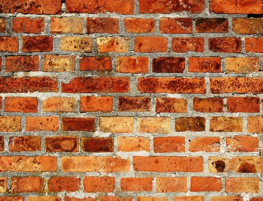 تکسچر و پس زمینه دیوار آجری