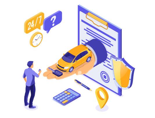 وکتور خرید آنلاین ماشین