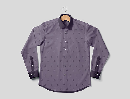 موکاپ پیراهن مردانه