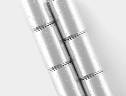 موکاپ قوطی فلزی لایه باز