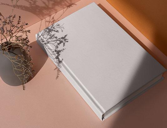 موکاپ جلد دفتر لایه باز