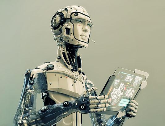 عکس ربات انسان نما با کیفیت