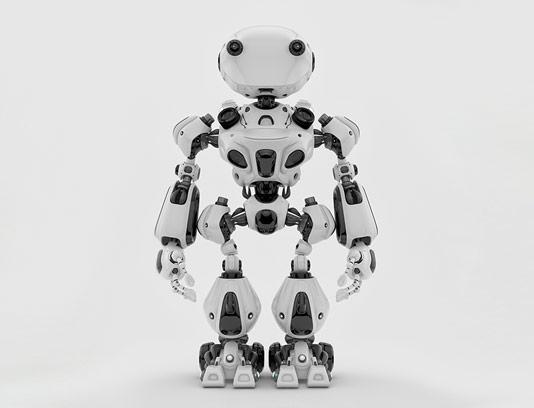 عکس با کیفیت ربات آهنی