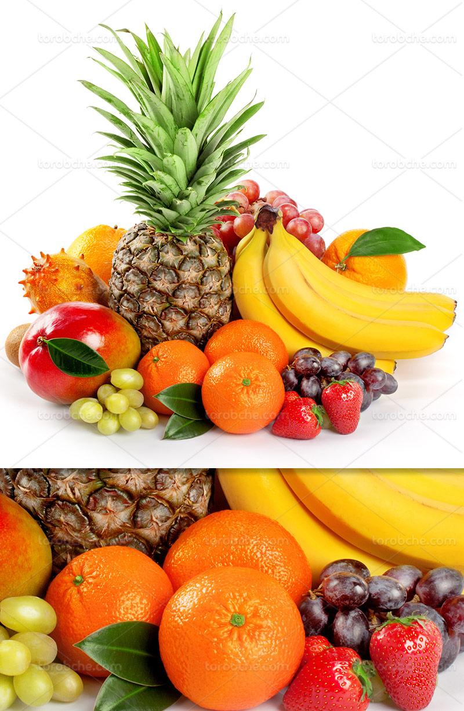 عکس میوه های تابستانی تازه