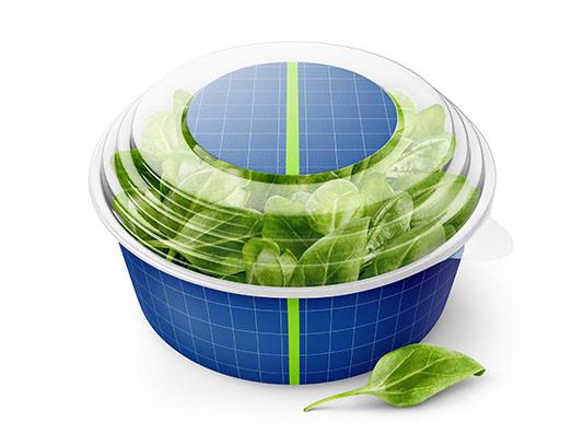 موکاپ بسته بندی سبزی ریحان