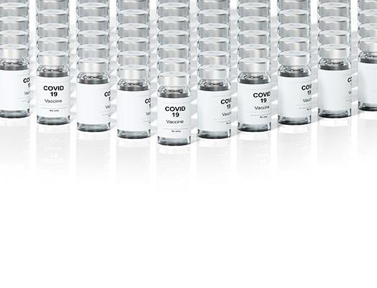 موکاپ واکسن کووید 19 PSD