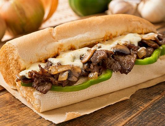 عکس با کیفیت ساندویچ رست بیف