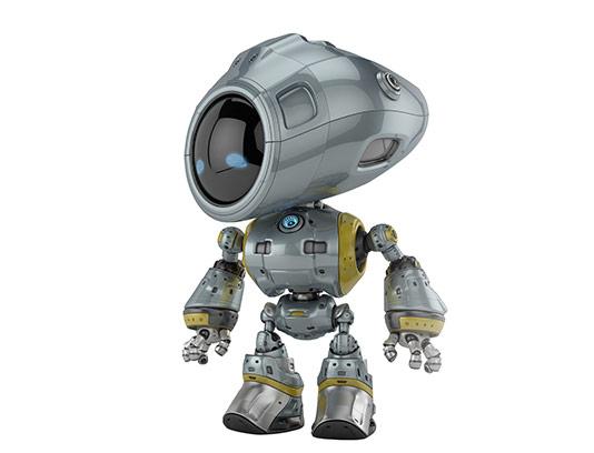 عکس ربات ایستاده با کیفیت
