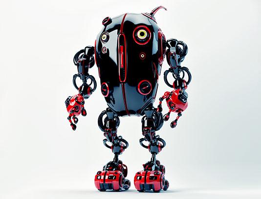 عکس با کیفیت ربات مسابقه