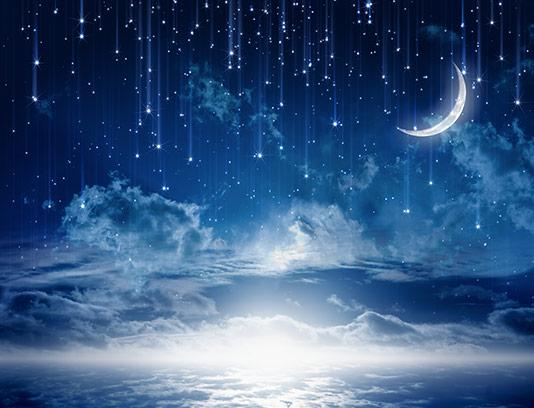 عکس آسمان پر ستاره