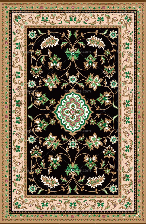 وکتور فرش ایرانی با کیفیت