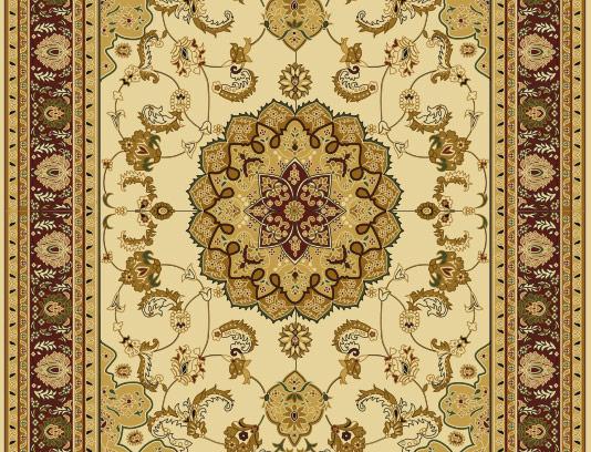 وکتور فرش ایرانی رنگی