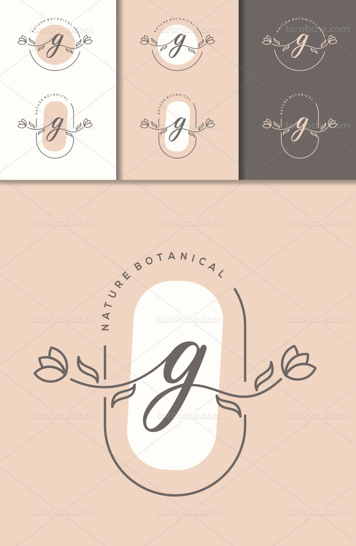 وکتور لوگو حرف G