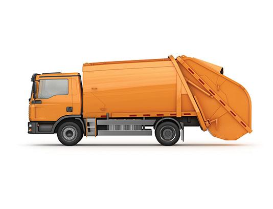 عکس ماشین حمل زباله