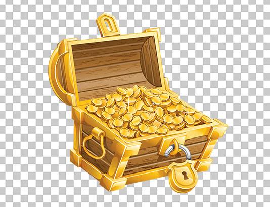عکس دوربری شده صندوق سکه