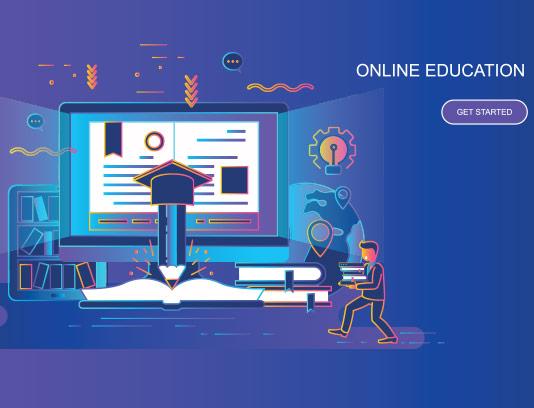 وکتور دوره آموزشی آنلاین