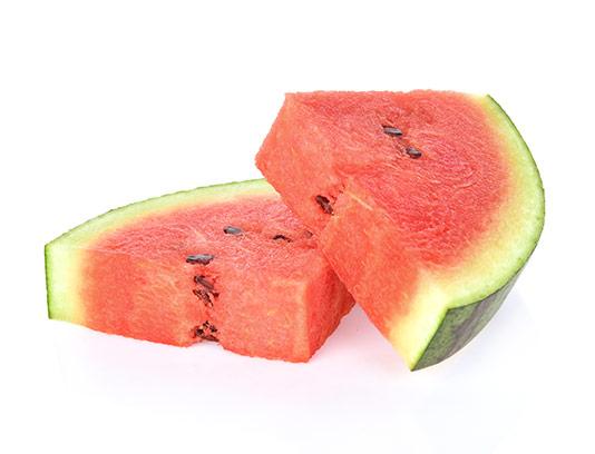 عکس تکه های هندوانه