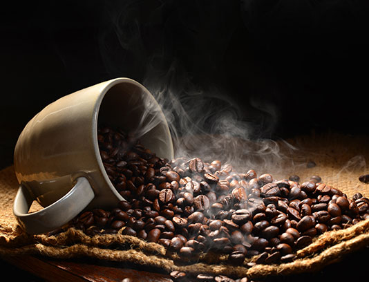 عکس دانه قهوه با کیفیت