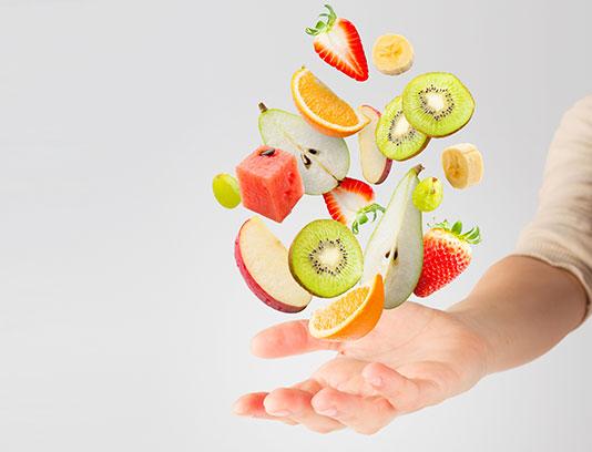 عکس سالاد میوه