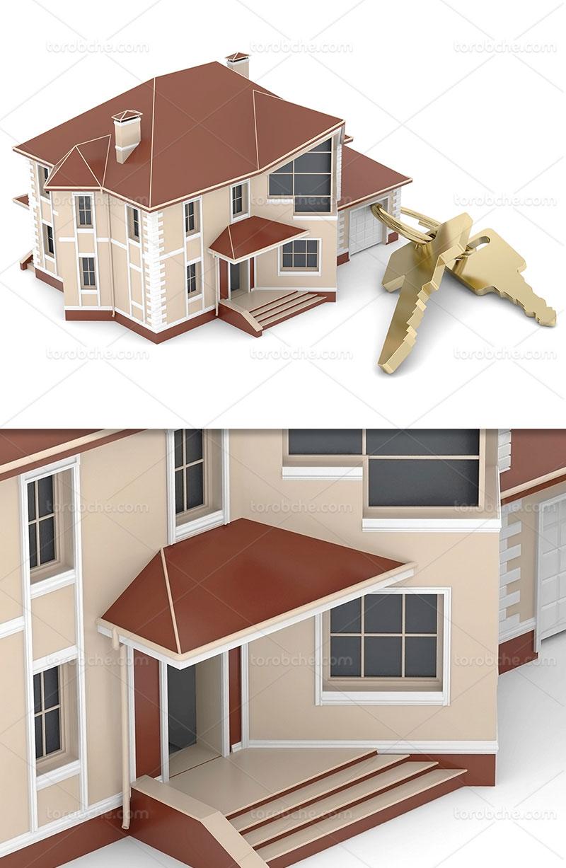 عکس خانه ویلایی با کیفیت