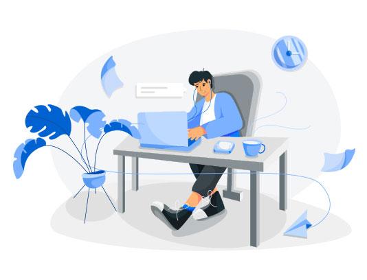 وکتور دوره های آنلاین با کیفیت