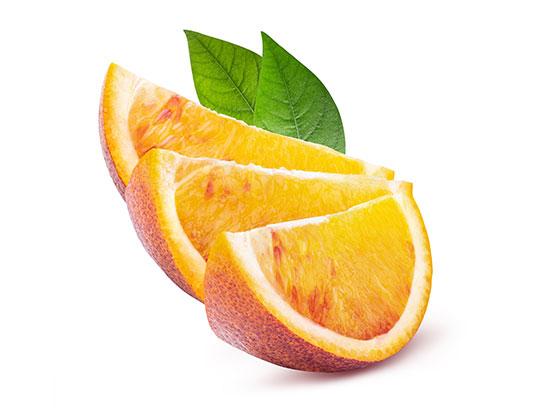 عکس پرتقال برش خورده