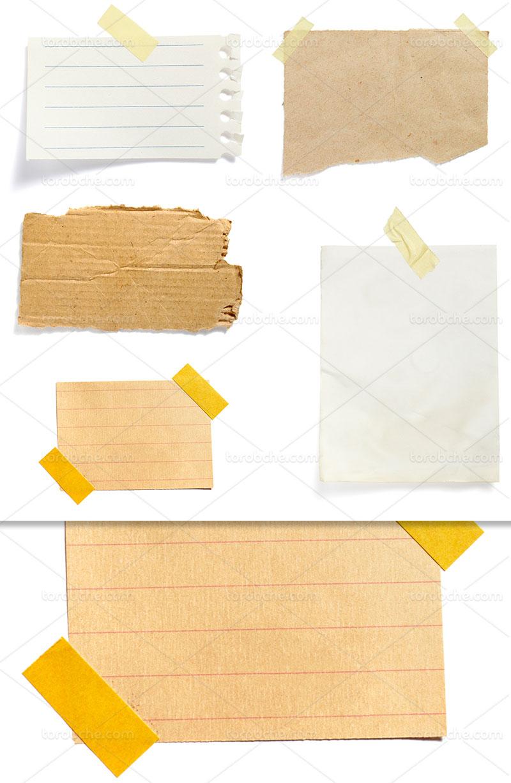عکس انواع کاغذ با کیفیت