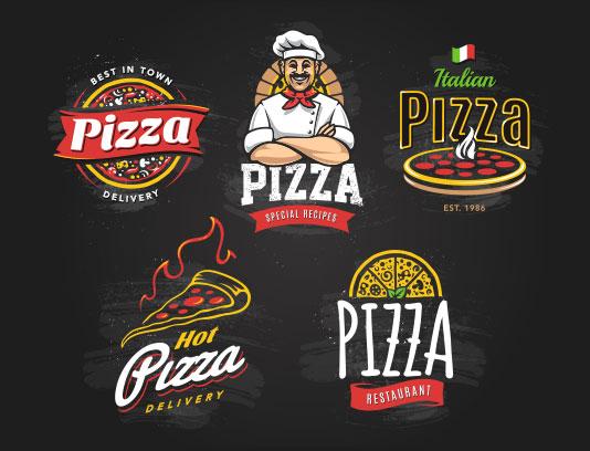 وکتور لوگو پیتزا