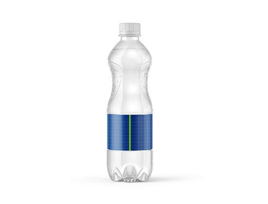موکاپ بطری آب معدنی لایه باز