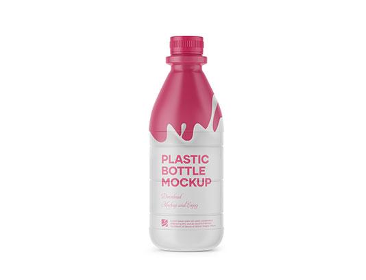 موکاپ لایه باز بطری پلاستیکی