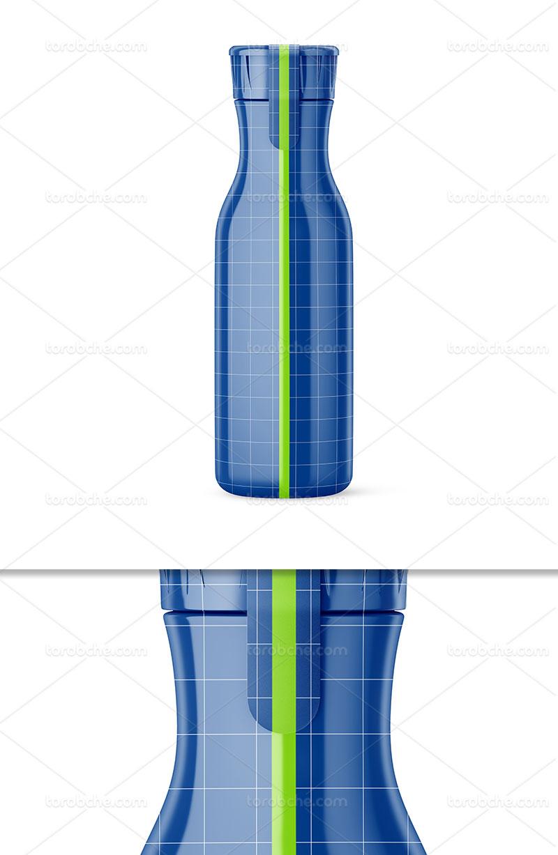 موکاپ بطری پلاستیکی لایه باز