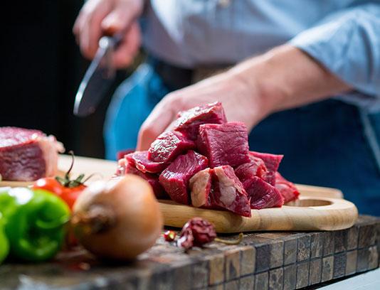 عکس گوشت قرمز تازه