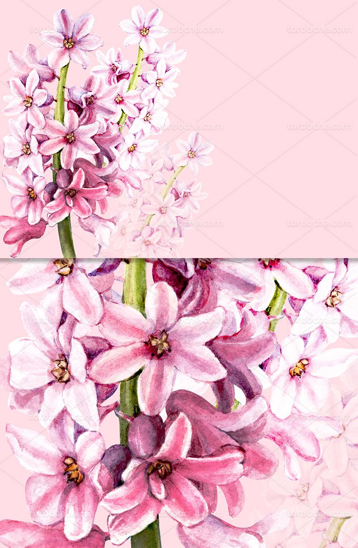 زمینه شکوفه های بهاری صورتی